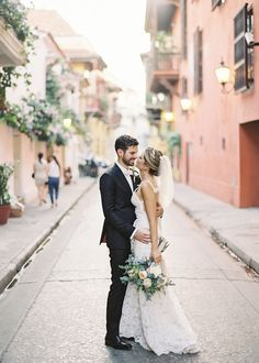 ROMANTIC CULTURAL WEDDING IN CARTAGENA, COLOMBIA Vicki Grafton Photography Cartagena Wedding