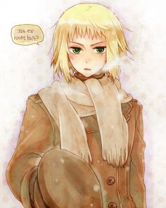 Switzerland was my favorite character when i started watching hetalia, he doesn't get enough fanart