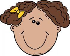 Girl face cartoon clip art free vector in open office drawing svg Girl Face Drawing, Cartoon Girl Drawing, Girl Cartoon, Cartoon Clip, Funny Cartoon Faces, Cartoon Drawings Of Animals, Cartoon Drawing Tutorial, Drawing Tutorials, Alice And Wonderland Tattoos