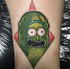 15 Pickle Rick Tattoos To Tickle Your Giggle Dick – staciemayer.com