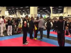Fibo Kwon Cup 11.4.2015 Pointfighting Stefan Reinboth IV - YouTube