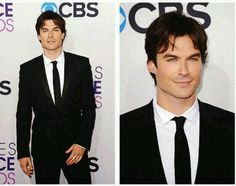 Ian at the 2013 People's Choice Awards Red Carpet
