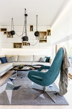 An Apartment With Bold Information In Gdynia, Poland - http://www.homedecorlife.com/an-apartment-with-bold-information-in-gdynia-poland.html