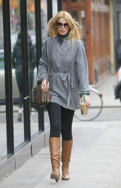 Claudia Schiffer Photo - Claudia Schiffer in Notting Hill