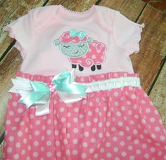 Infant gown by BibsandBurps on Etsy, $25.00