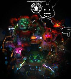 Fnaf AR poster by RockstarSelenite on DeviantArt Five Nights At Freddy's, Freddy 's, Fnaf Wallpapers, Fnaf 1, Fnaf Characters, Freddy Fazbear, Modelos 3d, Skylanders, Special Delivery