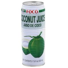 Free 2-day shipping. Buy Foco Coconut Juice, 17.6 fl oz, (Pack of 24) at Walmart.com 带果肉