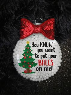 Items similar to Sexy Naughty Adult Christmas Ornament or Liquor Bottle Bag, Boyfriend Husband Gift, Ideas for Him, Dirty Exchange, Tree Decoration on Etsy Funny Christmas Ornaments, Christmas Crafts For Adults, Naughty Christmas, Diy Christmas Ornaments, Christmas Balls, Homemade Christmas, Christmas Humor, Holiday Crafts, Christmas Holidays