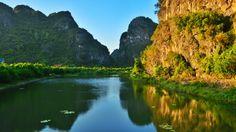 Trang An, Vietnam.