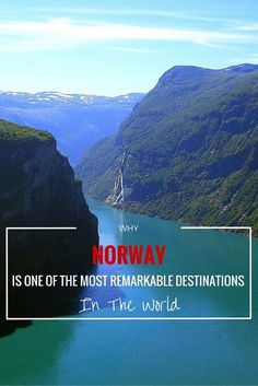 Why Norway is one of the most remarkable destinations in the world!! - Anita Hendrieka