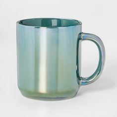Stoneware Iridescent Mug 10.3oz Teal - Threshold™ e5d424d5d45d