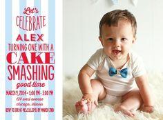 1st Birthday Invitation Option