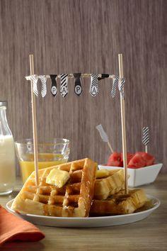 Cómo planear un desayuno para el día del padre | Si quieres darle un regalo memorable a papá pero no tienes mucho dinero, opta por ésta sencilla pero muy creativa opción. ¡El detalle es lo que cuenta!