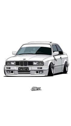 10 Basic Things Every Car Owner Should Know It's so easy to get a car these days. Tuner Cars, Jdm Cars, Nissan Tuning, Bmw E30 Coupe, Bmw E34, Bmw Wallpapers, Truck Art, Bmw Classic, Car Illustration