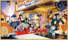Hanna Barbera Gang at the premier