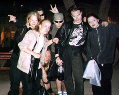 Old Nightwish - Sami Vanska, Ewo Pohjola, Emppu Vuorinen, Jukka Nevalainen, Tuomas Holopainen and Tarja Turunen.