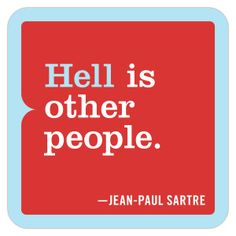 Knock Knock Hell is Other People Magnet - 50% Off!