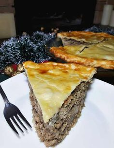 CANADIAN TOURTIÈRE Christmas Baking, Tart, Cooking Recipes, Healthy, Noel, Pie, Chef Recipes, Tarts