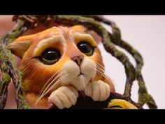 Polymer Clay - Puss In Boots - Part 1 - YouTube