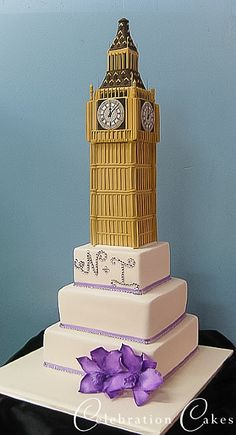 Big Ben Cake Images : 1000+ images about Wedding cake ideas on Pinterest ...