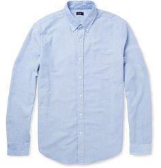 J.Crew Button-Down Collar Cotton Oxford Shirt | MR PORTER