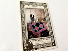 Amish Doll Pattern Amish Doll Quilt Doll Quilt by 2Fun4Words