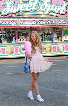 cotton candy and the fair