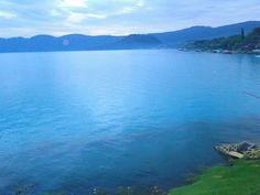 Lago azul, coaepeque, El Salvador