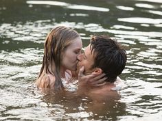 Pin for Later: The Best Film Kisses of 2015 The Longest Ride Wet and shirtless? Britt Robertson had a lovely day at the office when shooting this scene with Scott Eastwood, I'm sure.