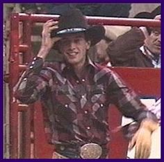 Lane Frost-Professional Bull Rider LOVE HIM!! Watch the movie 8 seconds, awesome…