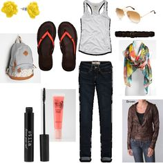 Outfit for the First Day of School, styled by Jenny