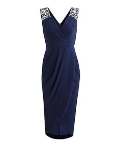 e9f7f78181a1 Look at this  zulilyfind! London Dress Company Navy Emily Dress by London  Dress Company  zulilyfinds