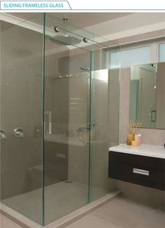 National Glass = Showers & Bathrooms