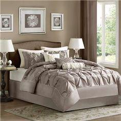 Madison Park Laurel 7 Piece Comforter Set,On sale price: $97.99-$118.99