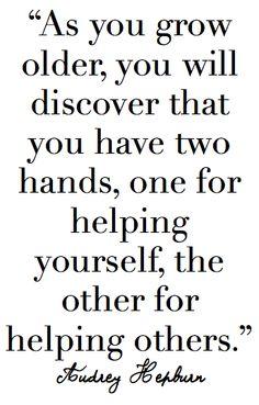 Helping Hands @Lindsey Henley @Hailey Barton @Natasha Winter
