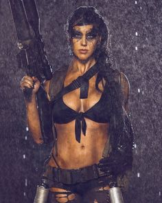 Metal Gear Solid: Quiet cosplay by Alex Zedra Military Girl, Military Fashion, N Girls, Pin Up Girls, Metal Gear Solid Quiet, Alex Zedra, Psy Art, Warrior Girl, Warrior Women