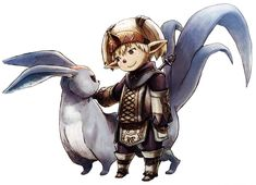 Tarutaru Summoner from Final Fantasy XI