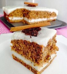 Try the carrot cake as well. Mousse Au Chocolat Torte, Cake Recipes, Dessert Recipes, Homemade Cakes, Carrot Cake, Easy Cooking, Amazing Cakes, Deserts, Food And Drink