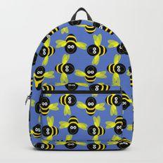 Bee happy Backpacks