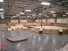 """It's hard to associate the word """"epic"""" with a wooden skatepark, but I think Team Pain may have in fact pulled it off. Epic I was skeptical when I heard some of the gushing about i… Skateboard Ramps, Skateboard Art, Interior Walls, Interior Design, Tv Lighting, Skate Ramp, Hall Design, Wall Finishes, Indoor"""