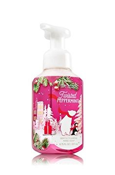 Bath  Body Works Gentle Foaming Hand Soap Twisted Peppermint >>> Check out this great product.(This is an Amazon affiliate link and I receive a commission for the sales)
