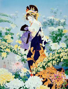 Morita Haruyo (森田春代) 1945-, Japanese Artist