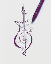 tatoos music drawings, guitar tattoo e tattoos. Music Tattoos, Body Art Tattoos, Tatoos, Music Tattoo Designs, Tattoo Ink, Guitar Tattoo, Guitar Art, Music Guitar, Guitar Drawing