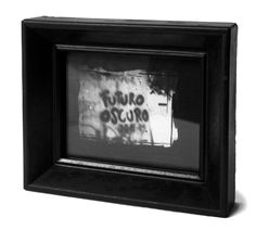 DARK FUTURE / Futuro Oscuro Frame, Handmade, Home Decor, Dark, Darkness, Picture Frame, Hand Made, Decoration Home, Room Decor