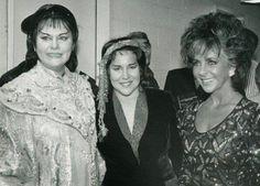 Eva Marton,Aprile Millo&Elizabeth Taylor