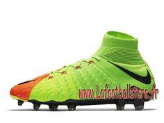 best loved f52a2 56cde Nike Hypervenom Phantom 3 DF FG Chaussure de football à crampons pour  terrain sec pour Homme Volt 860643-308