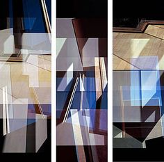 Jenny Okun, Carmy House Floor Triptych, 1995 / 2012 © www.lumas.com/ #Lumas