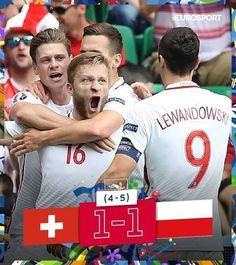 Brawo Polska!!! Polacy są w Ćwierćfinale Euro 2016!!! • Polska pokonała Szwajcarię po rzutach karnych • Wejdź i zobacz więcej >> #polska #pol #euro2016 #football #soccer #sports #pilkanozna #poland