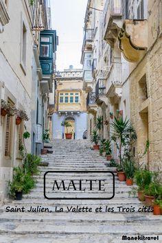 Que voir et faire à Malte Great Places, Places To See, Amazing Places, Voyage Europe, Destination Voyage, Photos Voyages, Short Trip, Europe Destinations, Mediterranean Sea
