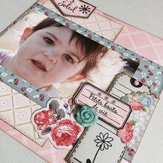 J'aime bien  ! #scrap #scrapbooking #minialbum #florilegesdesign - collection Vent de fleurs #toga by patmiaou